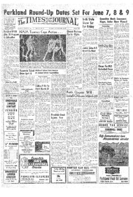 Times Journal- v.12 no.28 Mar 21, 1957