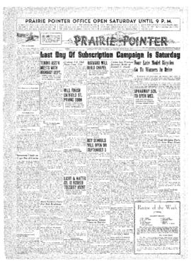 Prairie Pointer- v. 2 no.51 Aug 28, 1947