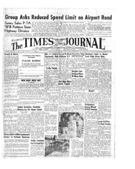 Times Journal- v. 9 no.19 Jan 21, 1954