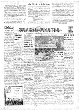 Prairie Pointer- v. 4 no.32 Apr 14, 1949