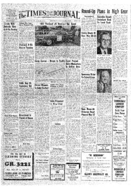 Times Journal- v.12 no.36 May 16, 1957