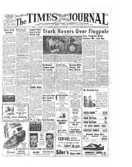 Times Journal- v.10 no. 7 Oct 28, 1954