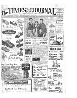 Times Journal- v. 9 no.29 Apr 1, 1954