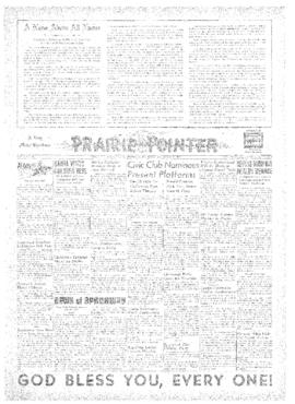 Prairie Pointer- v. 3 no.16 Dec 25, 1947