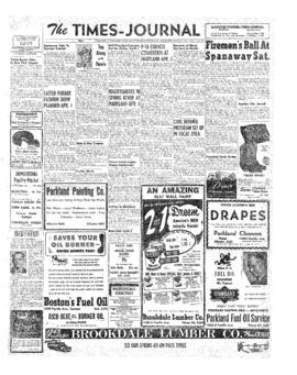 Times Journal- v. 7 no.28 Mar 27, 1952
