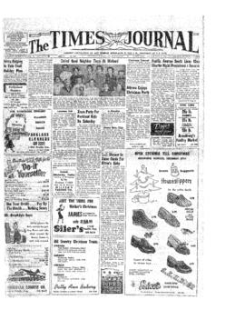 Times Journal- v.10 no.14 Dec 16, 1954