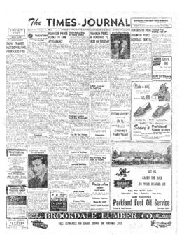 Times Journal- v. 8 no. 1 Sep 18, 1952