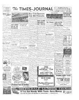 Times Journal- v. 6 no.40 Jun 21, 1951