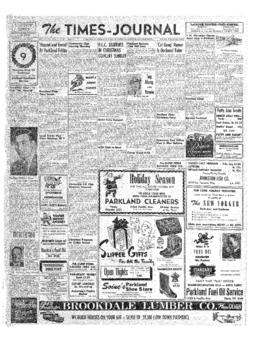 Times Journal- v. 7 no.13 Dec 13, 1951