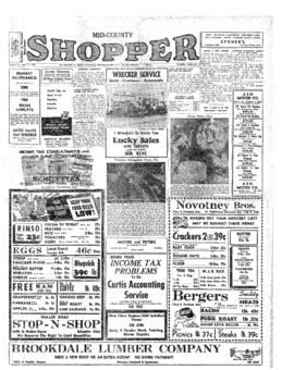 Mid-County Shopper- v. 4 no. 2 Jan 12, 1950