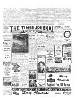 Times Journal- v. 8 no.15 Dec 24, 1952