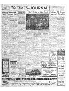 Times Journal- v. 6 no.26 Mar 15, 1951