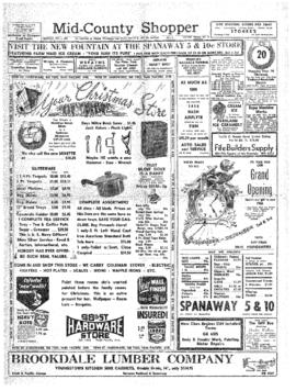 Mid-County Shopper- v. 3 no.48 Dec 1, 1949
