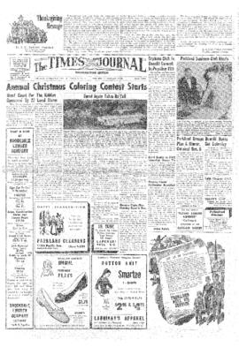 Times Journal- v.13 no.12 Nov 28, 1957