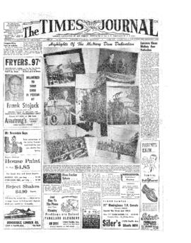 Times Journal- v.10 no. 3 Sep 30, 1954