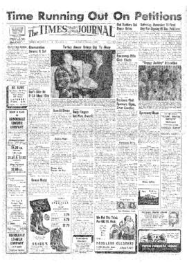 Times Journal- v.13 no.13 Dec 5, 1957