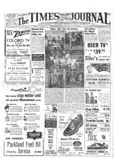 Times Journal- v.10 no. 4 Oct 7, 1954
