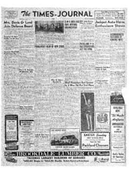 Times Journal- v. 6 no.25 Mar 8, 1951