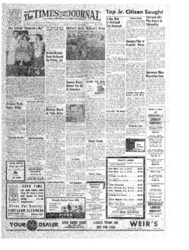 Times Journal- v.12 no.21 Jan 31, 1957