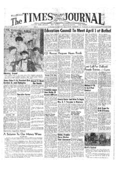 Times Journal- v. 9 no.28 Mar 25, 1954