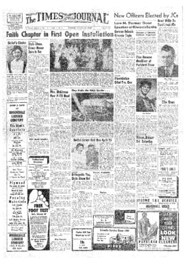 Times Journal- v.12 no.29 Mar 28, 1957