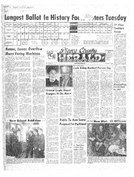 Pierce County Herald- v.22 no. 9 Nov 2, 1966