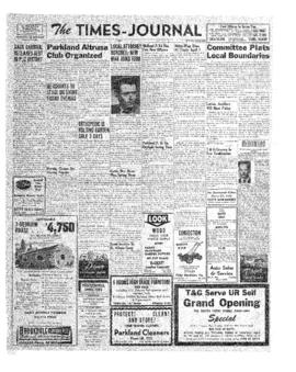 Times Journal- v. 6 no.32 Apr 26, 1951