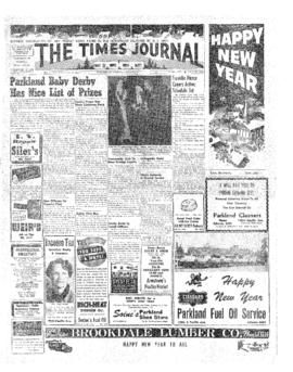 Times Journal- v. 8 no.16 Dec 31, 1952