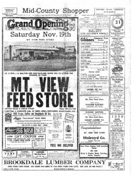 Mid-County Shopper- v. 3 no.46 Nov 17, 1949