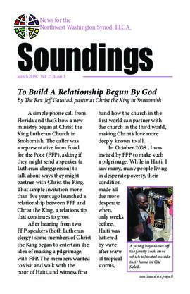 Soundings - March, 2009
