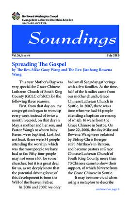 Soundings - July, 2010