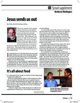 """The Lutheran"" insert - October, 2010"
