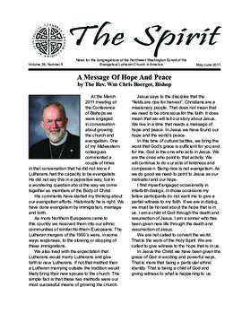 Spirit - May-June, 2011