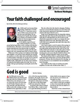 """The Lutheran"" insert - January, 2011"