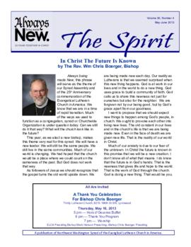 Spirit - May-June, 2013