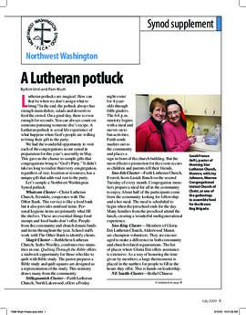 """The Lutheran"" insert - July, 2009"
