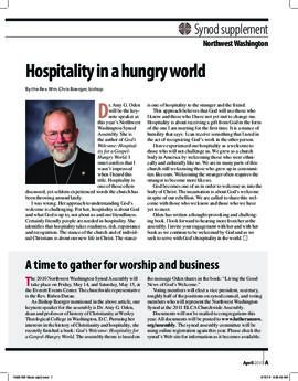 """The Lutheran"" insert - April, 2010"