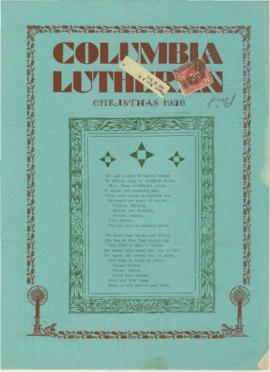 Columbia Lutherans, 1936 Christmas