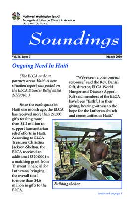 Soundings - March, 2010