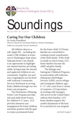 Soundings - May-June, 2009