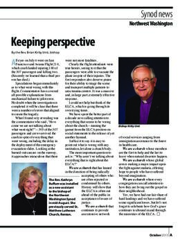 """The Lutheran"" insert - October, 2013"