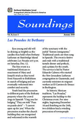 Soundings - January, 2010