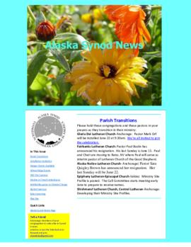 Alaska Synod News - June 4, 2014