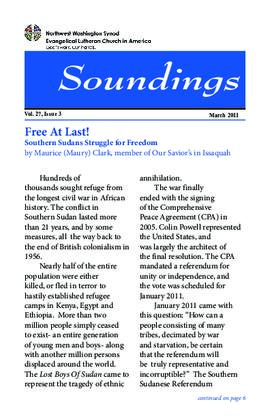 Soundings - March, 2011