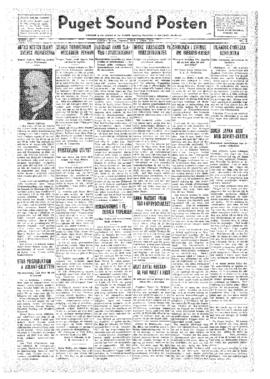 Puget Sound Posten- v.41 no.14 Apr 1, 1932