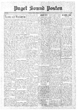 Puget Sound Posten- v.39 no. 7 Feb 14, 1930