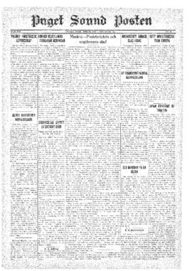 Puget Sound Posten- v.40 no.46 Nov 13, 1931