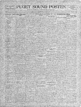 Puget Sound Posten- v. 4 no.157 Nov 26, 1908