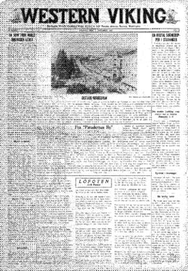 Western Viking v. 2 no. 40 Oct 3, 1930