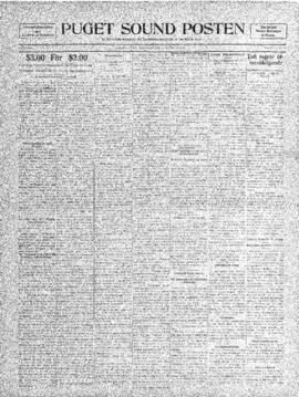 Puget Sound Posten- v. 4 no.154 Nov 5, 1908
